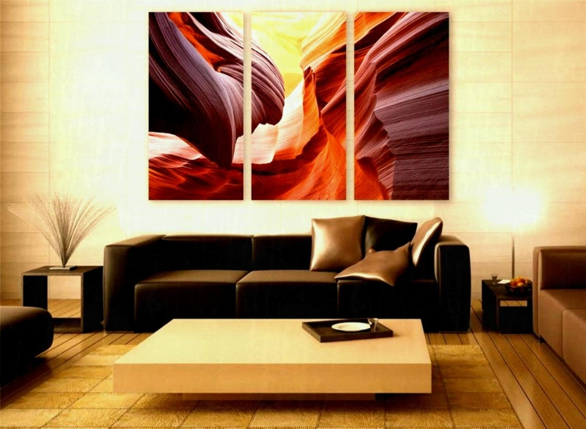 Arizona Wall Art Within Best And Newest Large Canvas Wall Art In Current Arizona Canyon Print Panels Decor (View 14 of 15)