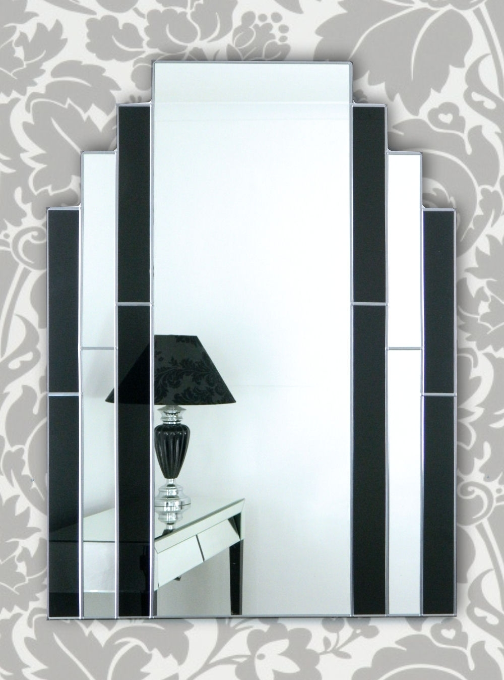 Art Deco Wall Art Intended For Famous Classic Art Deco Wall Mirror – Beyond The Galleries (View 3 of 15)