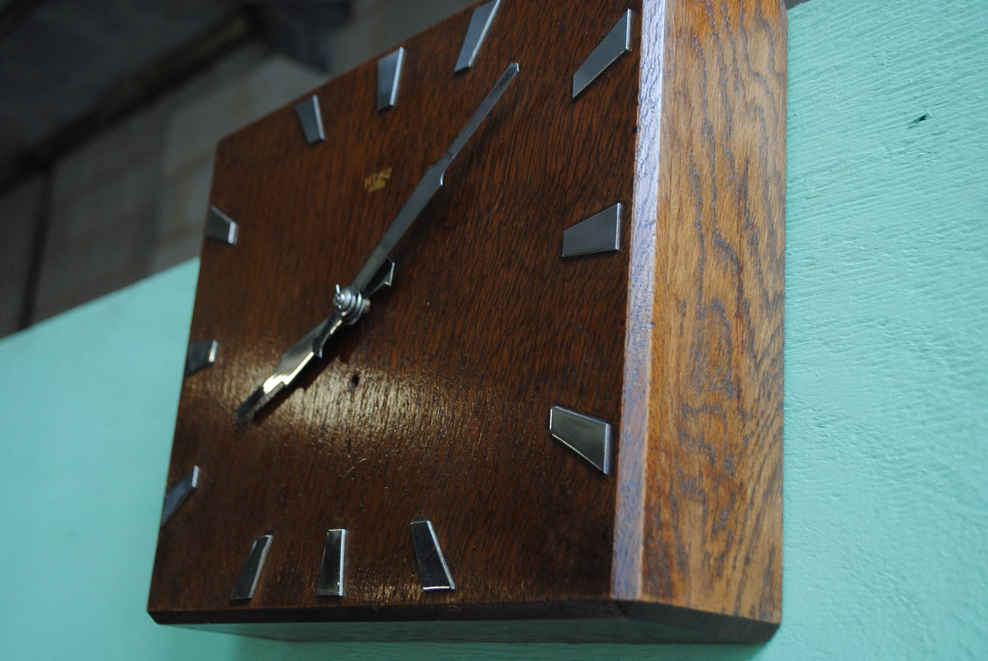 Art Deco Wall Clock Pertaining To Preferred Art Deco Wall Clock (View 15 of 15)