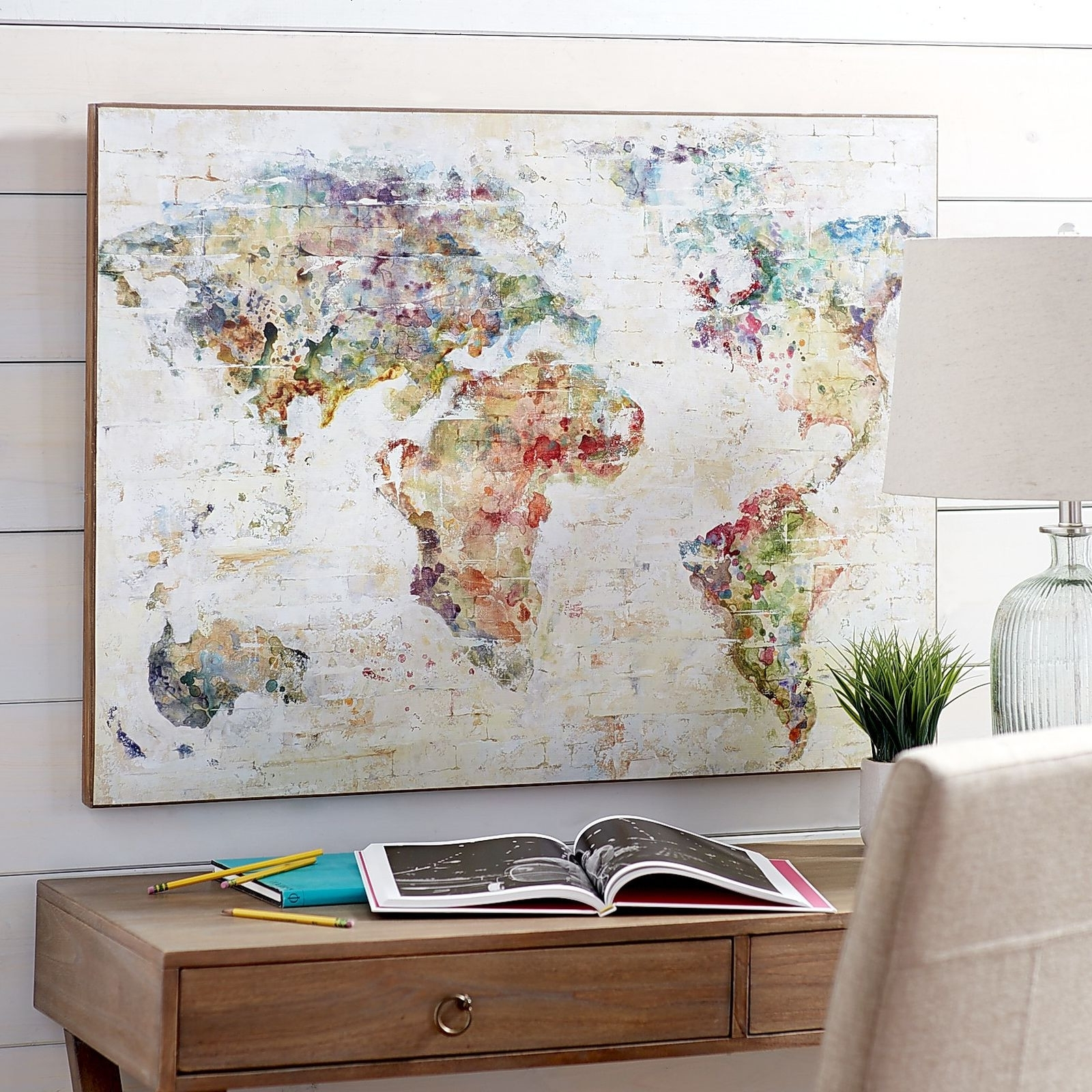 Art Wall Decor With Regard To Well Known Wall Decor World Map Home Decorating Ideas Design Ideas Of World Map (View 9 of 15)