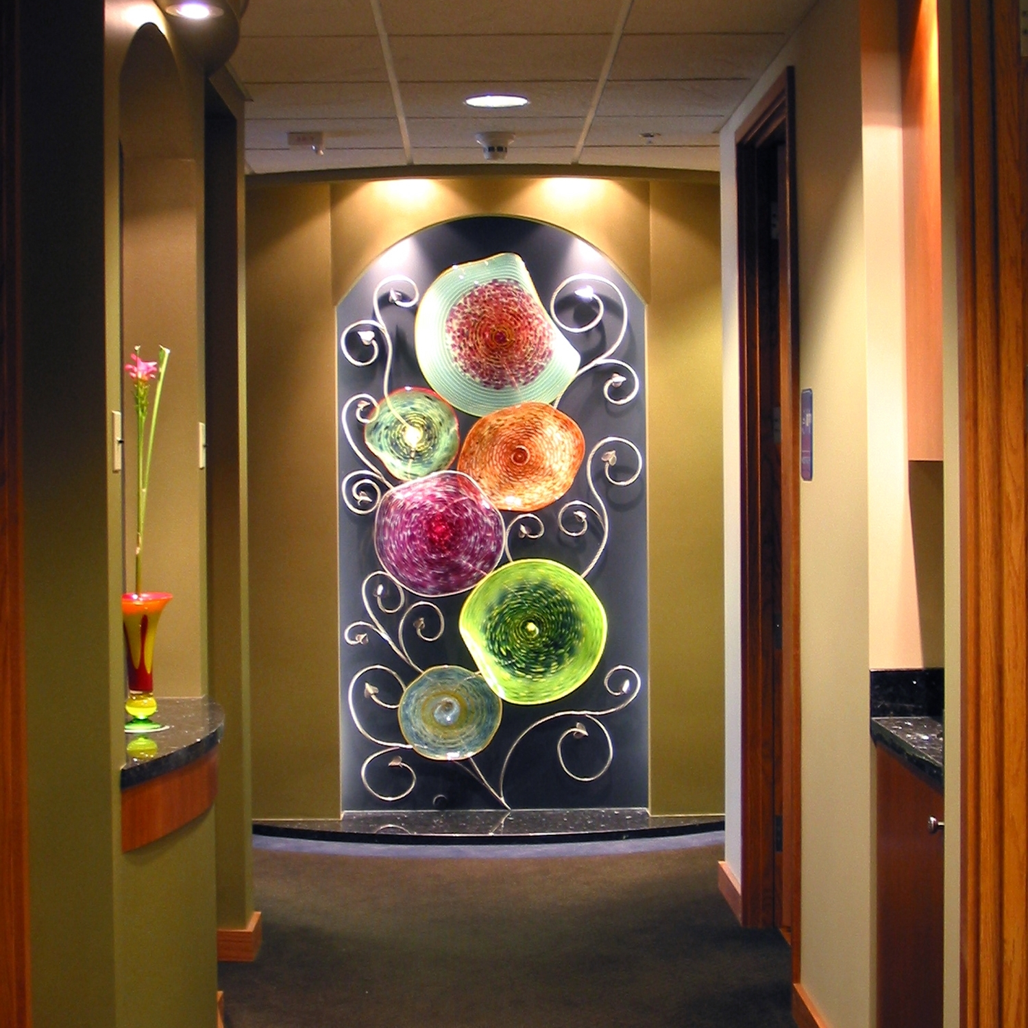 Featured Photo of Blown Glass Wall Art