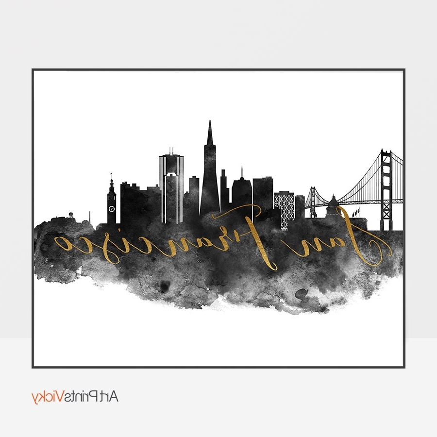 Artprintsvicky For Famous San Francisco Wall Art (View 3 of 15)