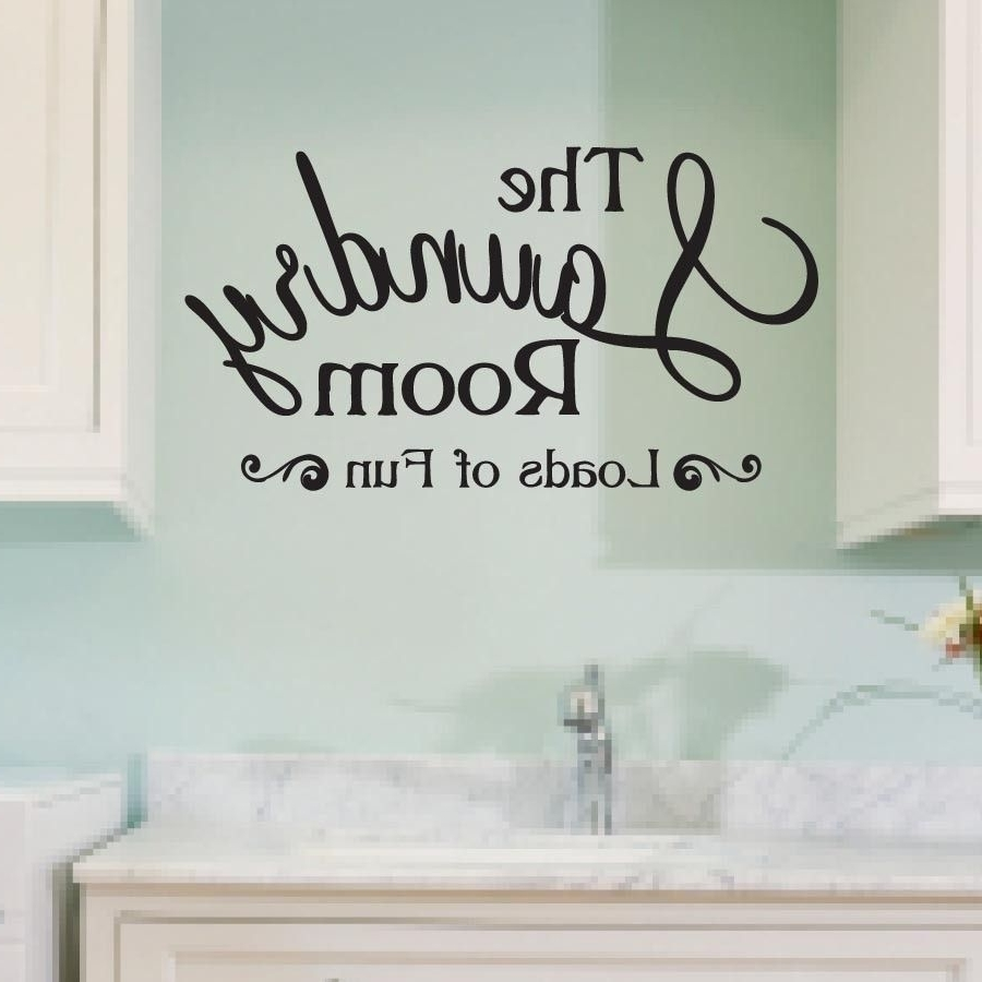 Awesome Rooms For Laundry Room Wall Art (View 2 of 15)