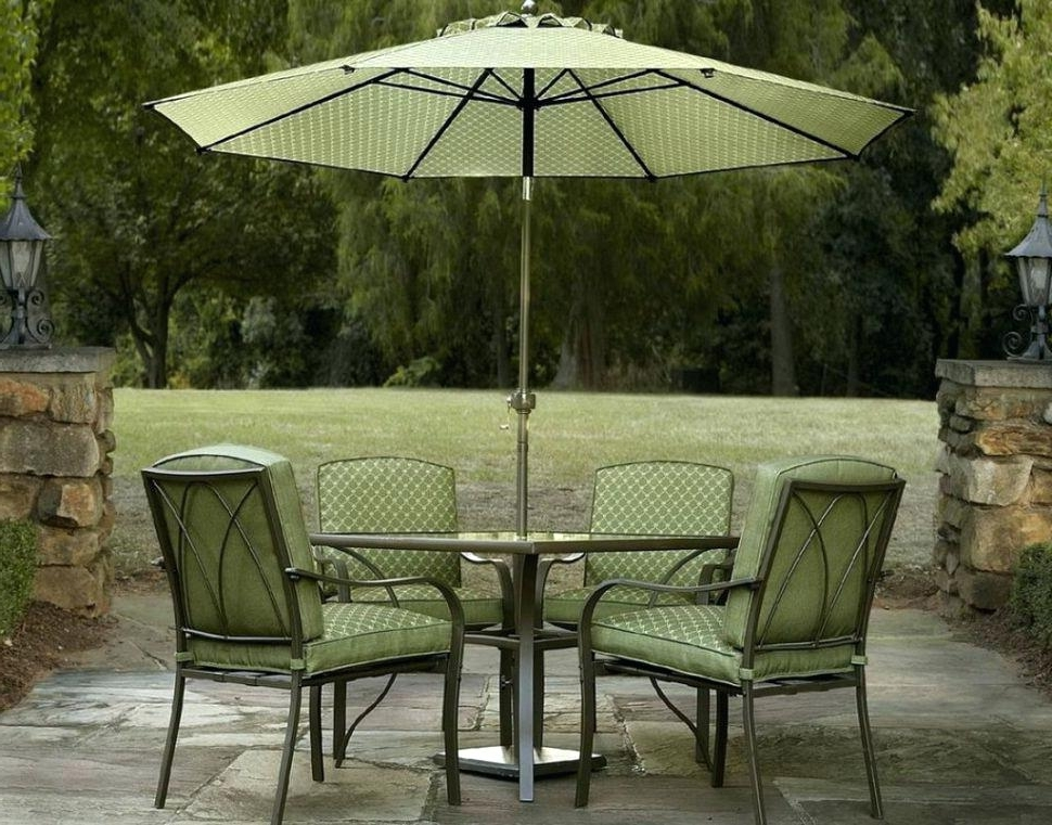 Bar Height Patio Umbrella Medium Size Of Table And Chairs Patio Set Within Preferred Patio Umbrellas For Bar Height Tables (View 5 of 15)