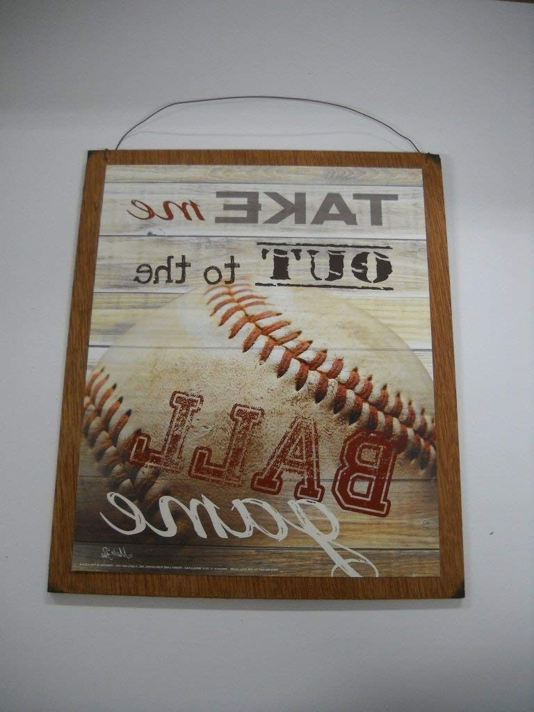Baseball Wall Art Intended For Most Recent Sofa Ideas (View 4 of 15)