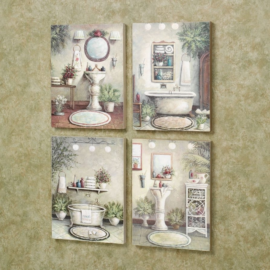 Bathroom Wall Art Decors Pertaining To Most Recently Released Fascinating Bathroom Wall Art And Decor 5 Funny (View 7 of 15)