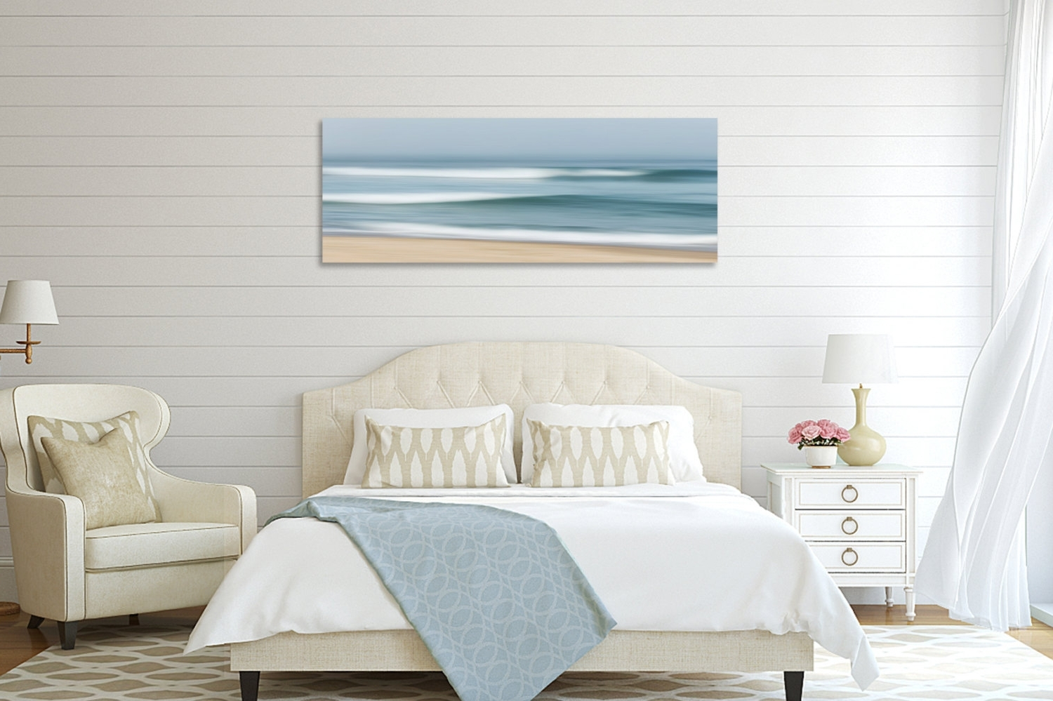 Beach Themed Wall Art Bedroom : Andrews Living Arts – Fresh Beach With Recent Large Coastal Wall Art (View 3 of 15)