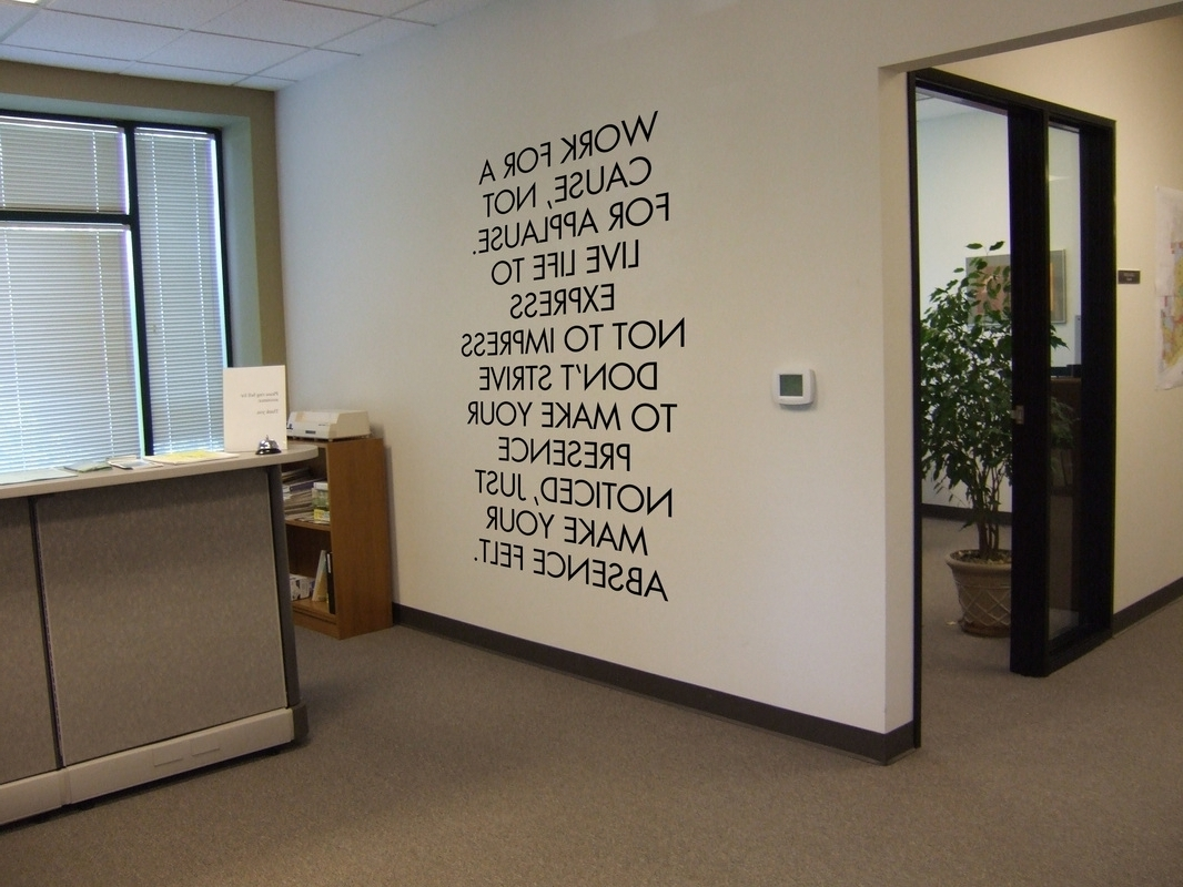 Beautiful Wall Art Ideas For The Office (View 3 of 15)