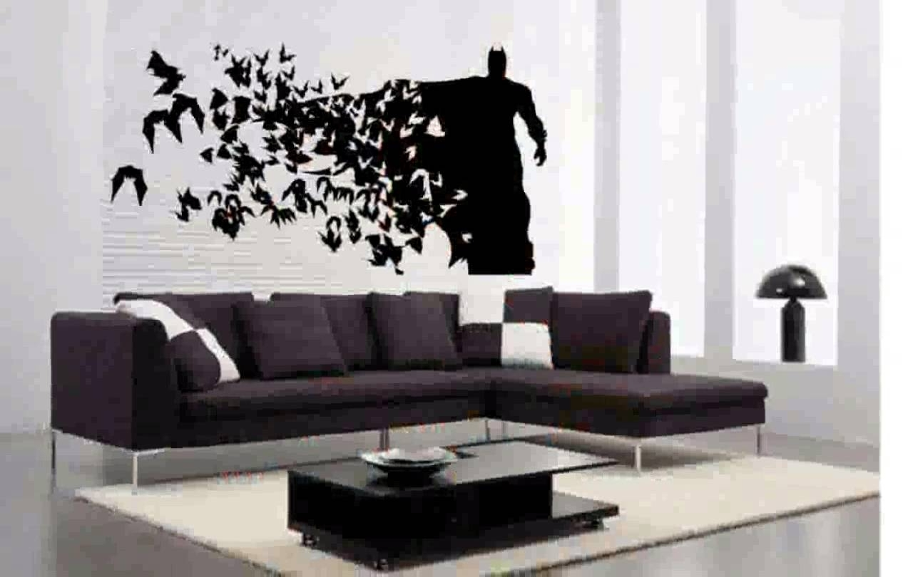 Best And Newest Batman Wall Art Within Batman Wall Decals – Youtube (View 12 of 15)