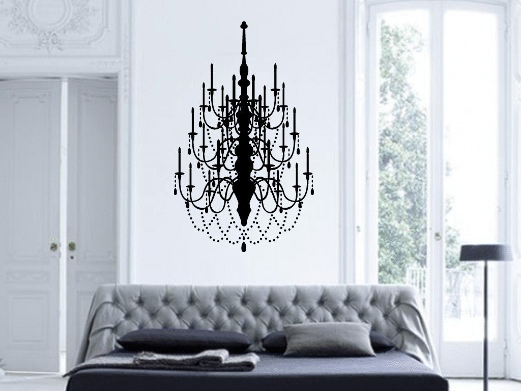 Best And Newest Chandelier Wall Art – Culturehoop Pertaining To Chandelier Wall Art (View 8 of 15)