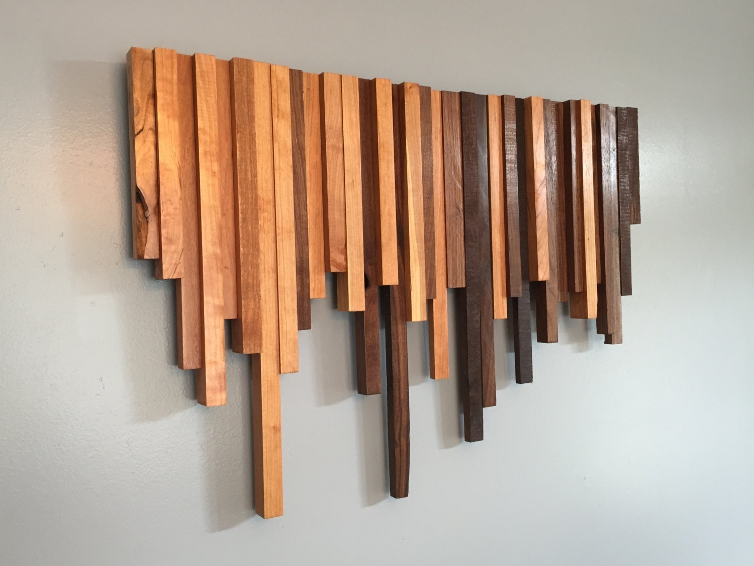 Best And Newest Creative Wood Wall Art Decor : Stylish Wood Wall Art Decor Inside Wood Wall Art (View 1 of 15)