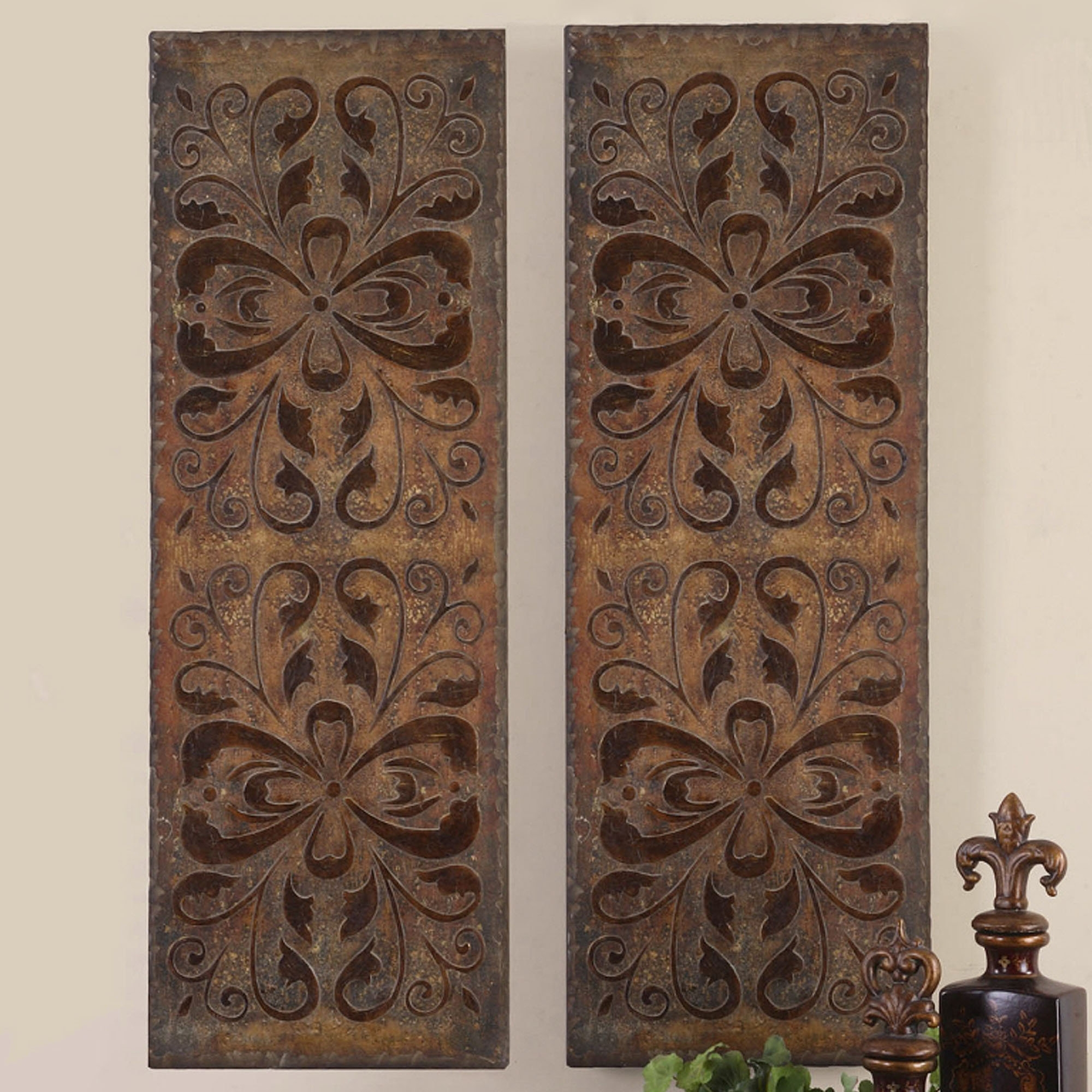 Best And Newest Distressed Wood Panel Wall Decor Wall Art Designs Wall Art Panels Within Wall Art Panels (View 2 of 15)