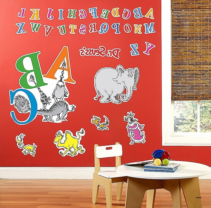 Best And Newest Dr Seuss Wall Art Decor (View 2 of 15)