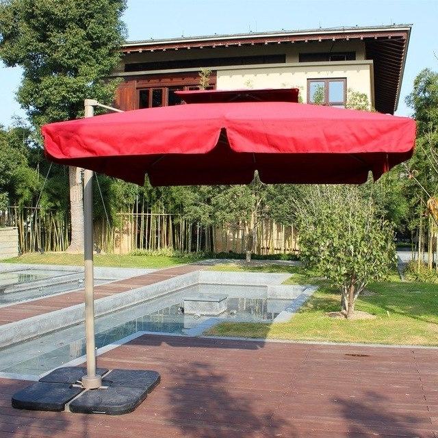 Best And Newest European Patio Umbrellas Regarding New Special Large Aluminum Outdoor Patio Furniture Umbrella Shade (View 2 of 15)