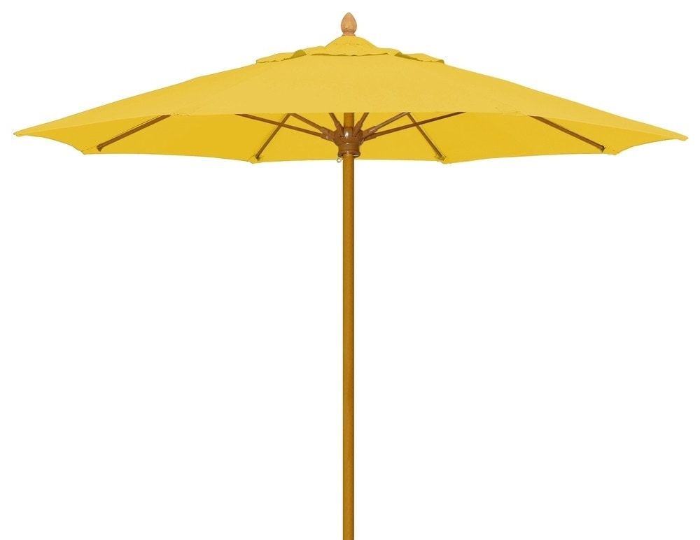 Best And Newest Fiberbuilt Umbrellas & Cushions Patio Umbrellas Push Up Pin Pertaining To Yellow Sunbrella Patio Umbrellas (View 5 of 15)