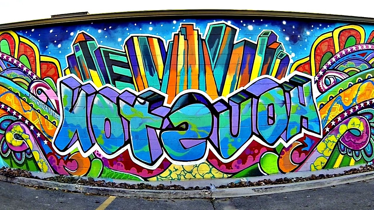 Best And Newest Houston Wall Art Intended For Gopro: Houston Street Art – Youtube (View 8 of 15)