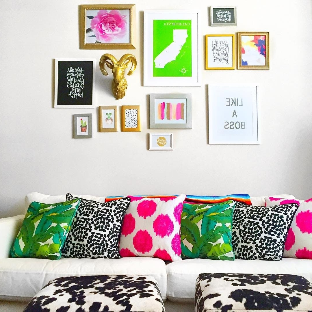Best And Newest Kate Spade Inspired Decor Ideas For Living Room (View 3 of 15)