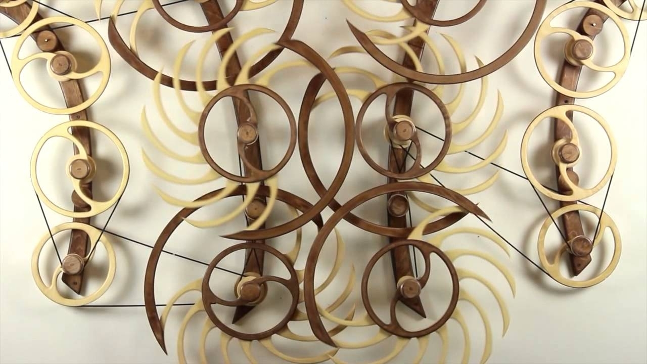 Best And Newest Kinetic Wall Art In These Self Propelled Kinetic Wood Sculpturesdavid C (View 3 of 15)