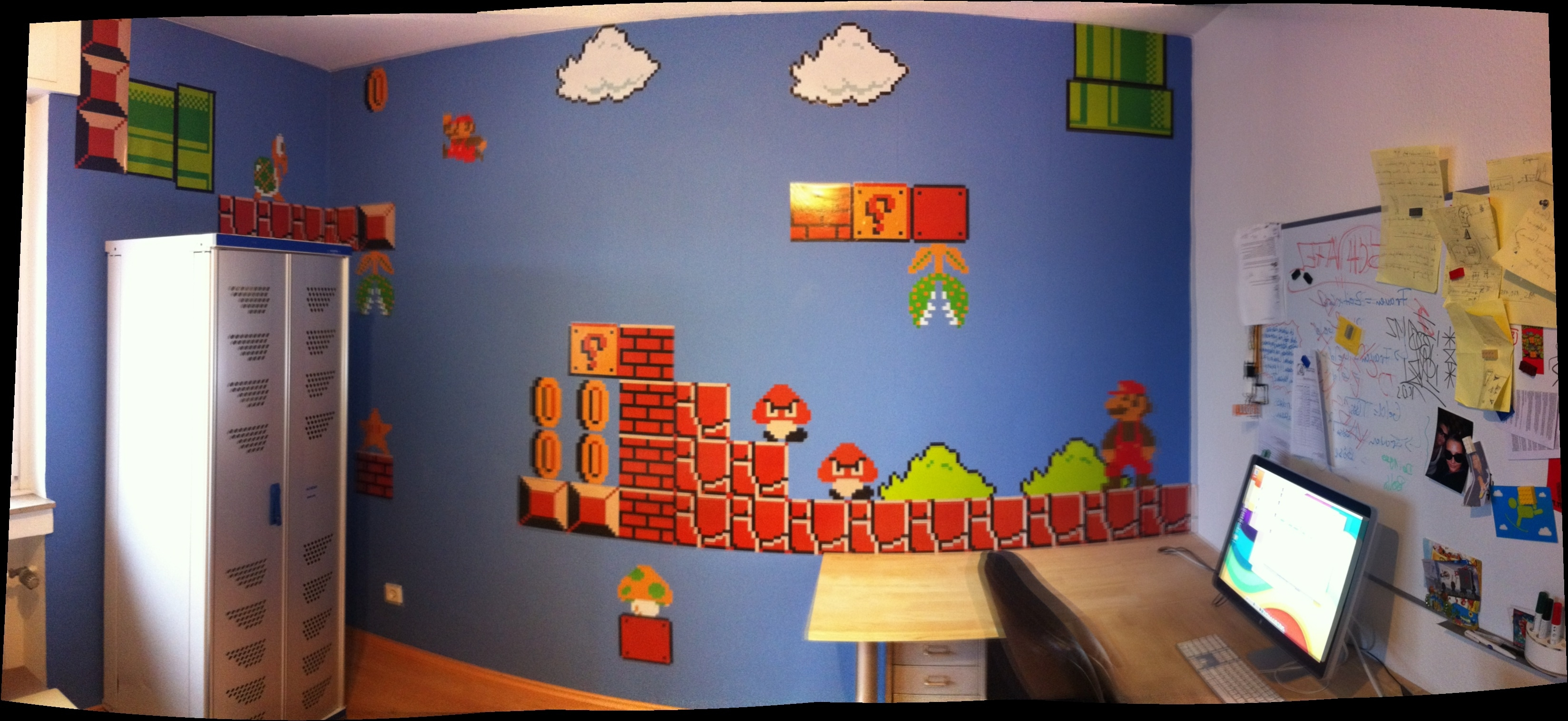 Best And Newest Mario Wall Stickers – Looking For Some Cool Mario Decorations? Inside Nintendo Wall Art (View 3 of 15)