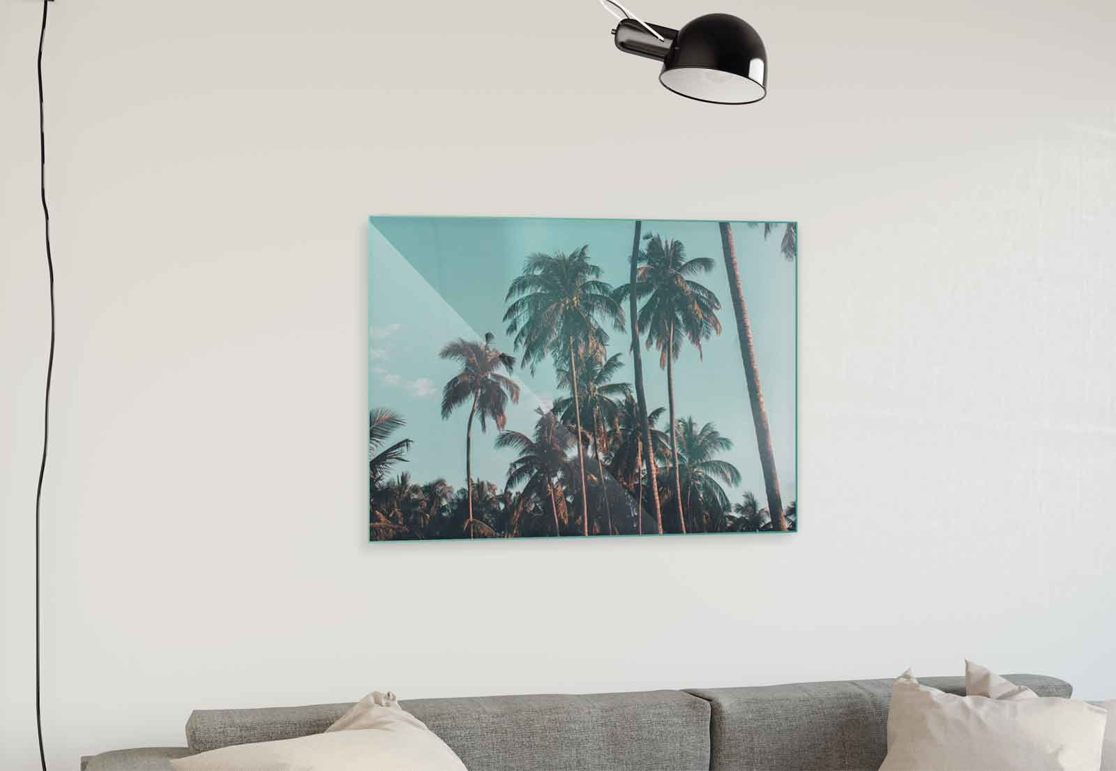 Best And Newest Nature Wall Art With Palms Blue Sky Nature Canvas & Glass Wall Art Pictures (Fw 1218) (View 11 of 15)