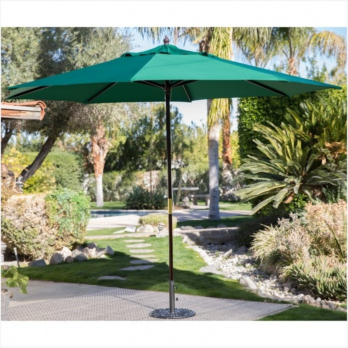 Best And Newest Offset Patio Umbrella Lowes As Your Reference » Elysee Magazine With Lowes Offset Patio Umbrellas (View 5 of 15)