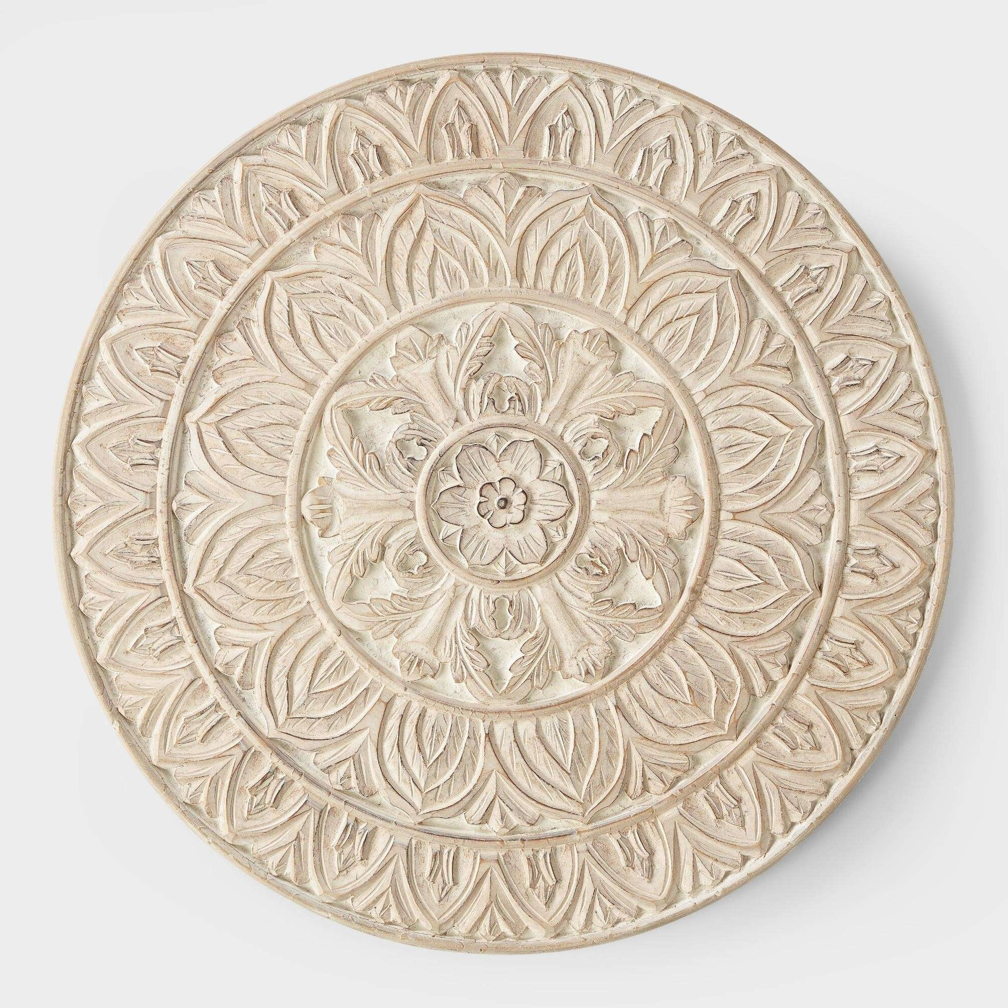 Best And Newest Round Wood Wall Art Round Wood Wall Art Best Of Whitewashed Round Throughout Round Wood Wall Art (View 1 of 15)