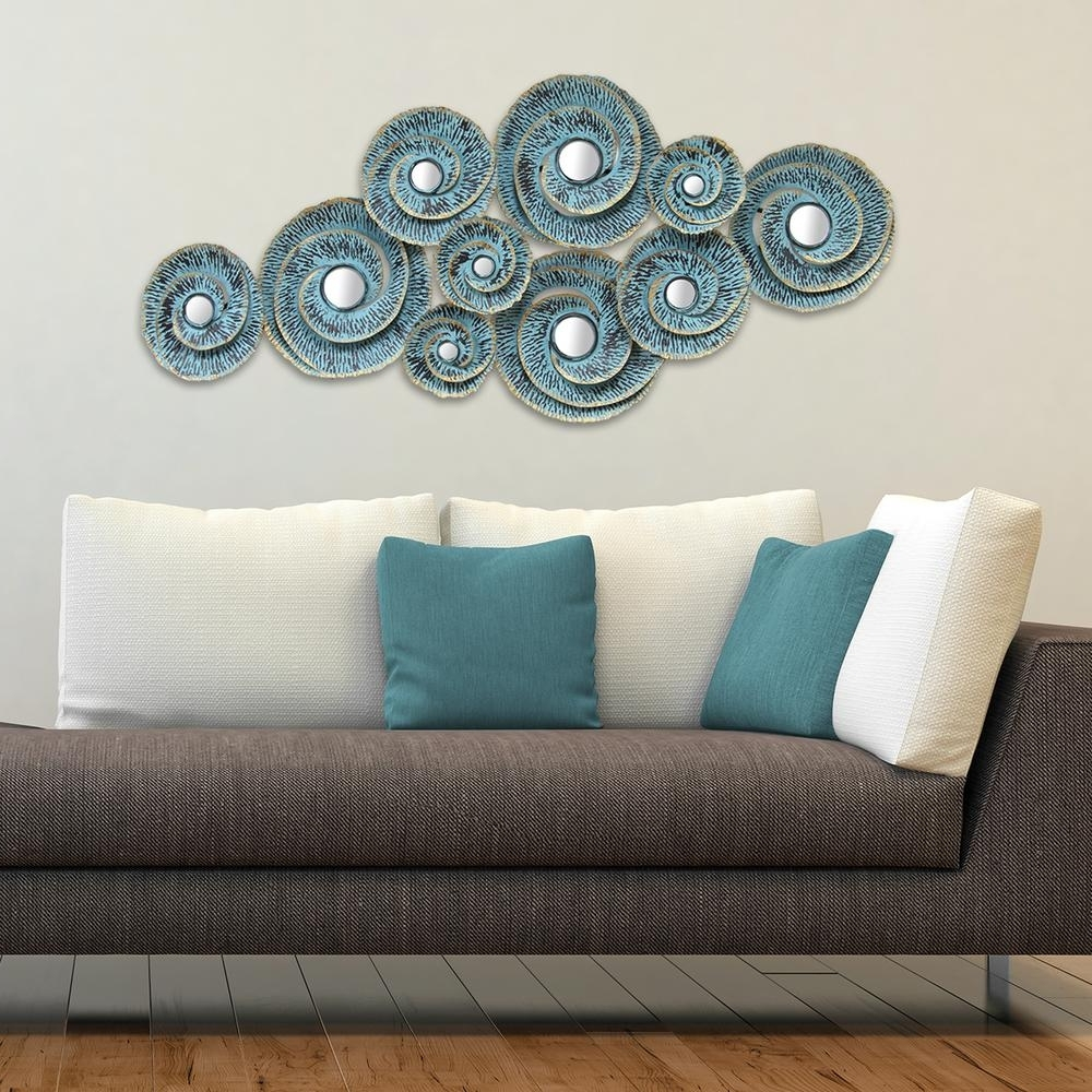 Best And Newest Stratton Home Decor Stratton Home Decor Decorative Waves Metal Wall Throughout Decorative Wall Art (View 4 of 15)