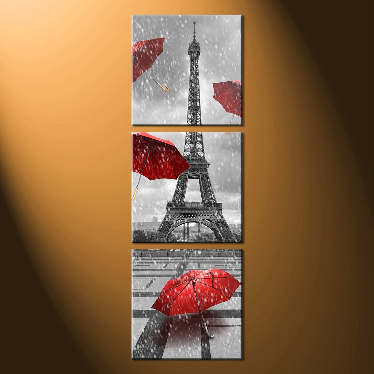 Best And Newest Vertical Wall Art Intended For Vertical Wall Art Eiffel : Andrews Living Arts – Thousand Ideas (View 3 of 15)