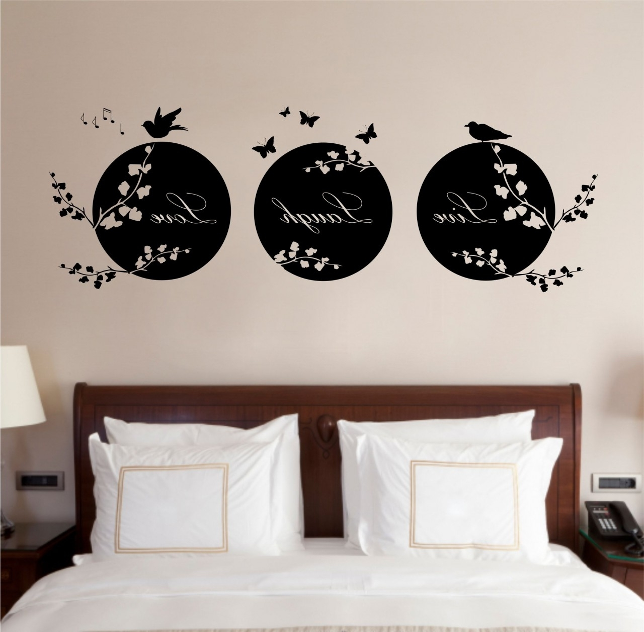 Best And Newest Vinyl Wall Art Intended For Vinyl Wall Art: Makeover For Your Homes – Pickndecor (View 1 of 15)