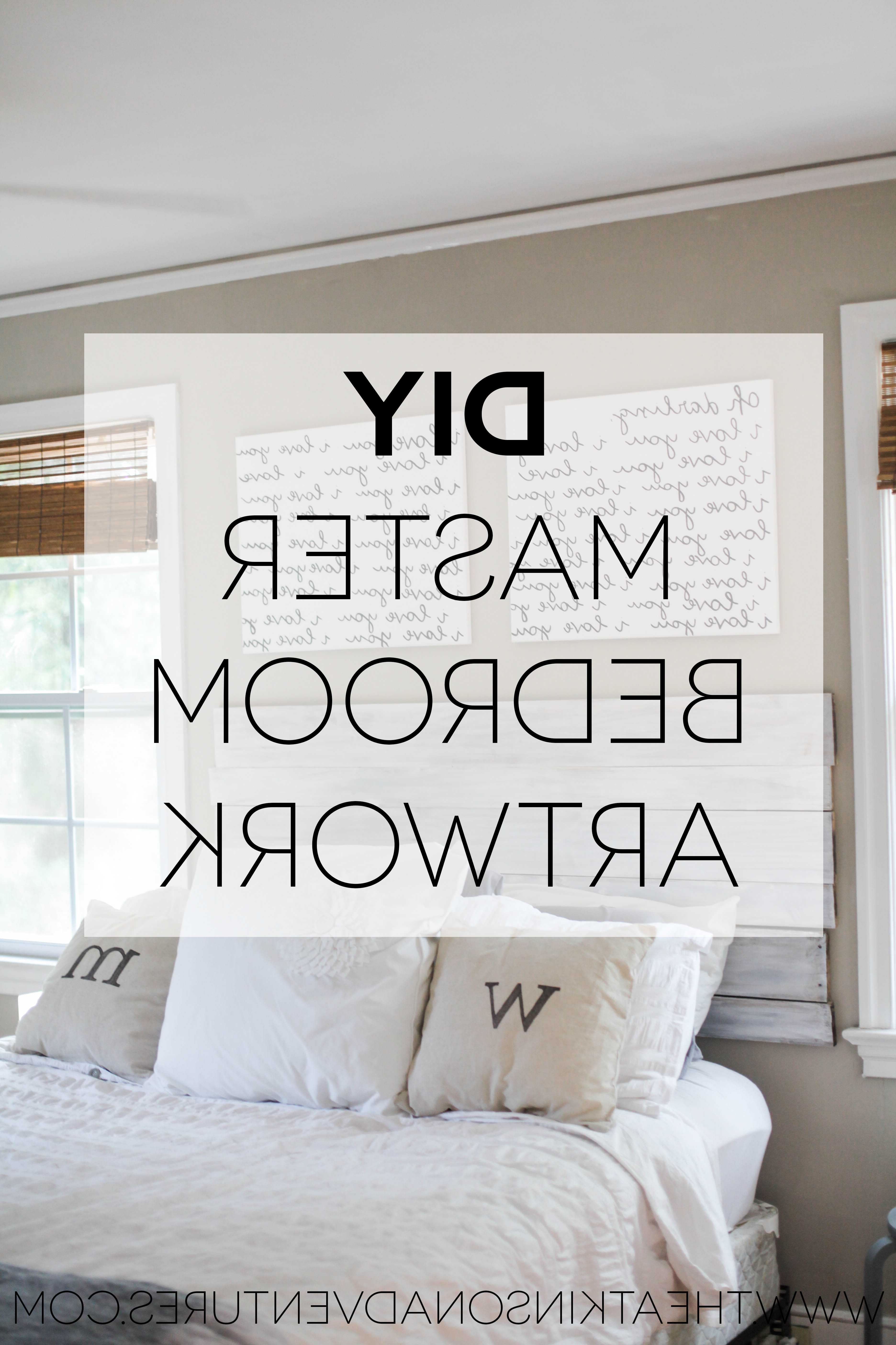 Best And Newest Wall Art For Bedroom With Master Bedroom Artwork Ideas Wall Art For Collection In Blue Wa (View 6 of 15)