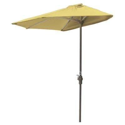 Best And Newest Yellow Sunbrella Patio Umbrellas Intended For Sunbrella Fabric – Yellow – Patio Umbrellas – Patio Furniture – The (View 15 of 15)