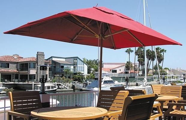 Best Hampton Bay Patio Umbrella Outdoor Umbrella Rectangular Olive In Widely Used Hampton Bay Patio Umbrellas (View 3 of 15)