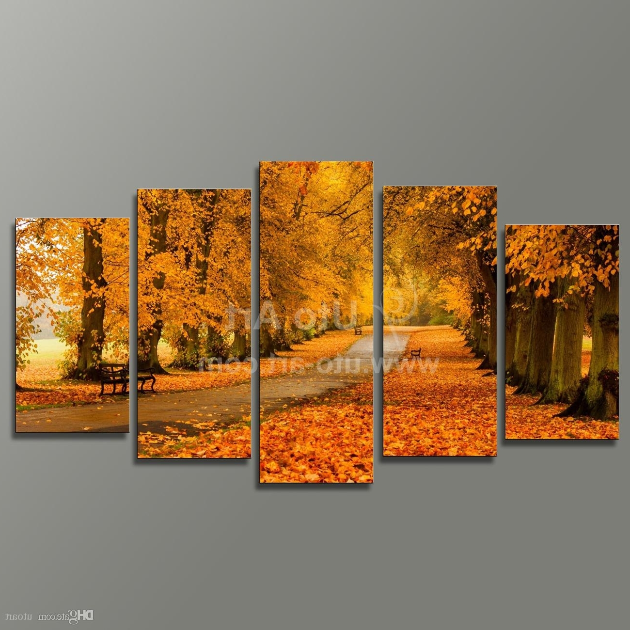 Best Modern Modular Paintings On Canvas 5 Panel Wall Art Painting Of Intended For Popular Wall Art Canvas (View 10 of 15)
