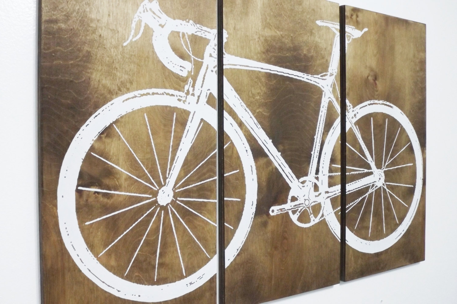 Bicycle Wall Art Intended For 2017 Innovation Bike Wall Art Interior Design Ideas Road Street Bicycle (View 3 of 15)