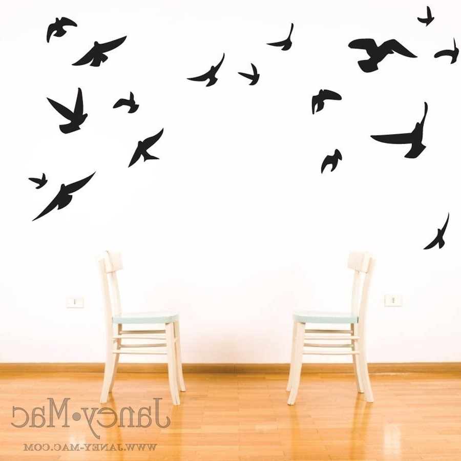 Bird Wall Art For Most Up To Date Wood Bird Wall Decor Wall Art Simple Decorating Birds Wall Art (View 4 of 15)