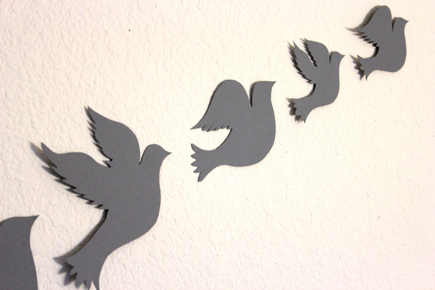 Bird Wall Art Regarding Well Known 40 Bird Wall Art, Tree With Birds And Birdcage Wall Decalwall (View 15 of 15)