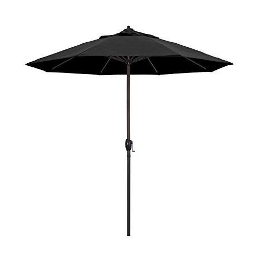 Black Patio Umbrellas: Amazon In Most Up To Date Amazon Patio Umbrellas (View 9 of 15)