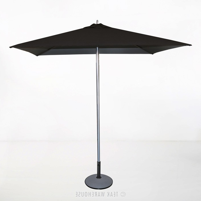 Black Patio Umbrellas In Newest Awesome Black Patio Umbrella Tiki Square Outdoor Umbrella Black (View 7 of 15)