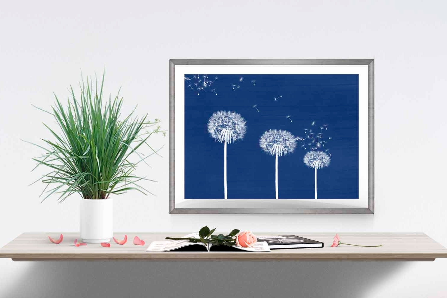 Blue Wall Art For Bedroom – Blogtipsworld With Best And Newest Navy Blue Wall Art (View 1 of 15)