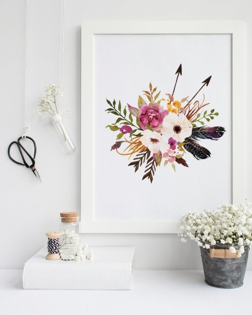 Bohemian Wall Art For Favorite Bohemian Wall Art – Home Design And Wall Decoration Ideas (View 14 of 15)