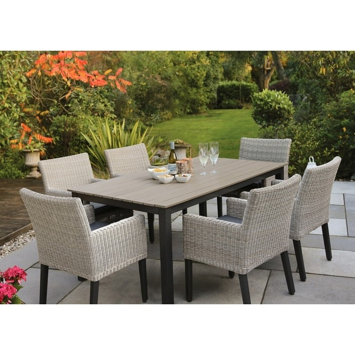 Bretange Dinning Collection – Kettler Furniture – Patio Furniture In Recent Krevco Patio Umbrellas (View 6 of 15)