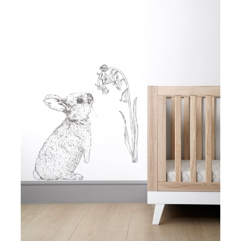 Bunny Wall Art With Regard To Popular Mamas & Papas Wall Art – Rabbit – Bedding, Nursery & Moses Baskets (View 2 of 15)