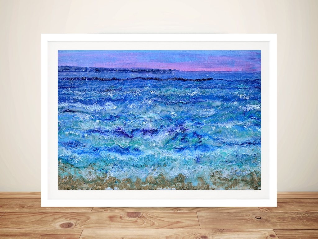 By The Beautiful Sea Abstract Ocean Wall Art Australia With Most Up To Date Ocean Wall Art (View 5 of 15)