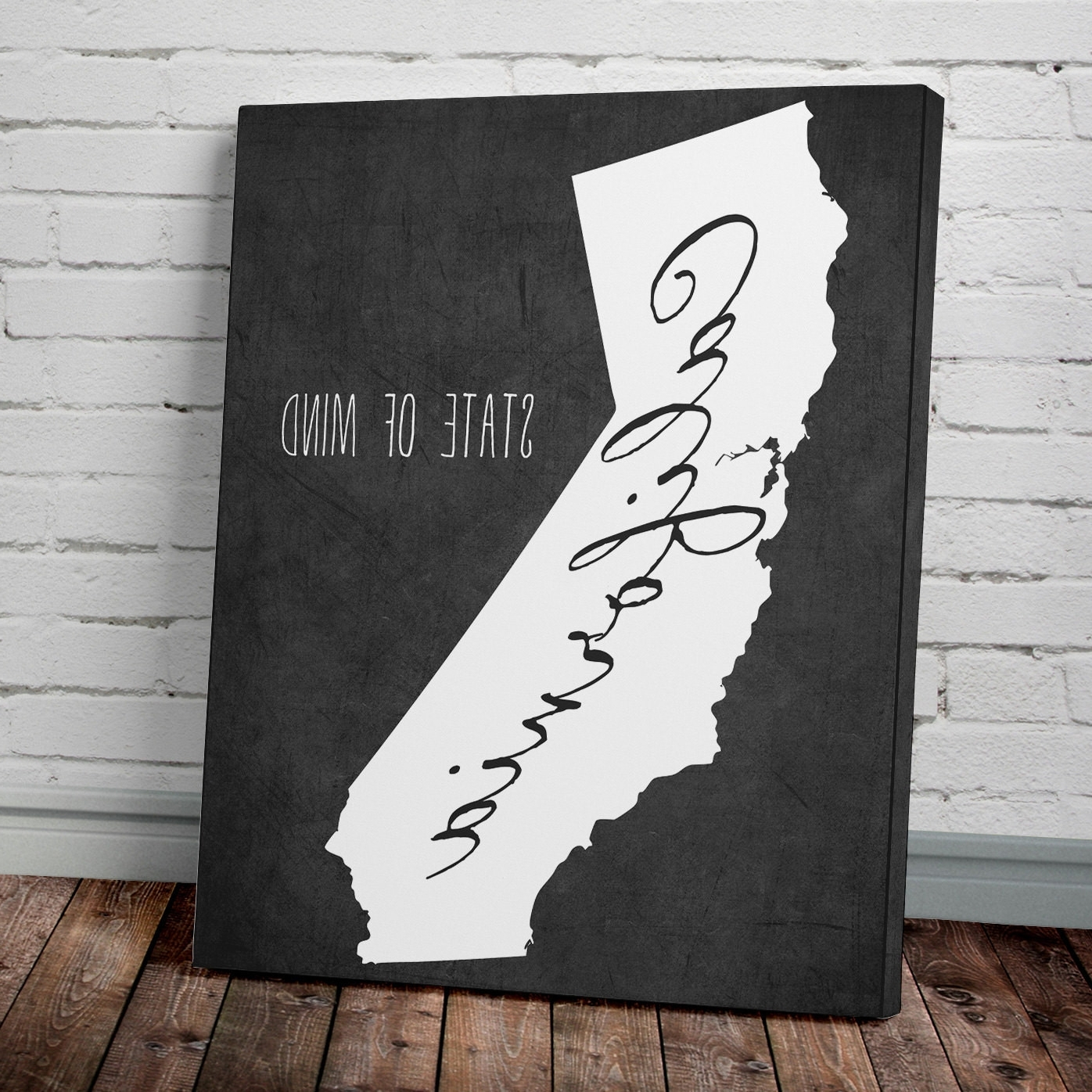 California Wall Art In Well Liked California Wall Art – Mycraftingbox (View 3 of 15)