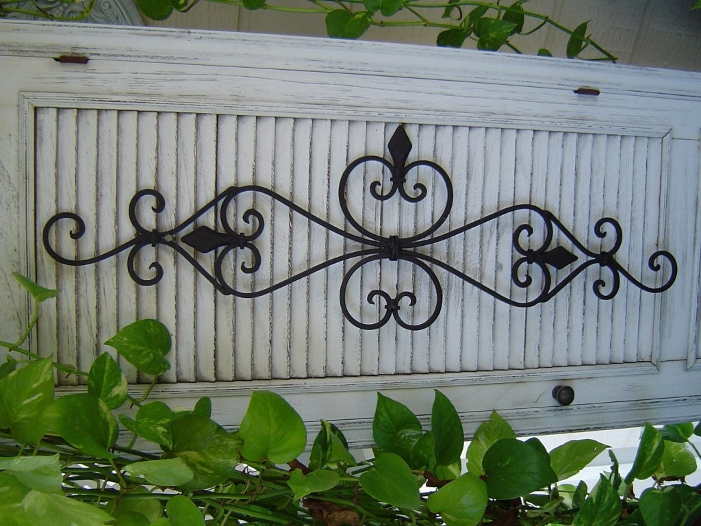 Calm And Charming Outdoor Wall Decor Diy (View 4 of 15)