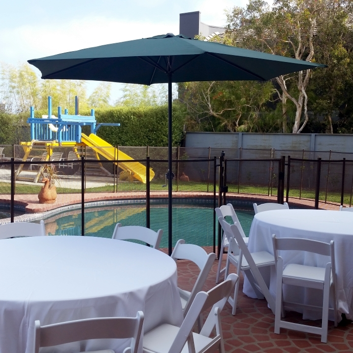 Canopy & Tent Rentals Intended For Latest Patio Umbrellas For Rent (View 1 of 15)