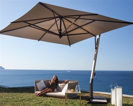 Cantilever Patio Umbrellas – Home Design Ideas Inside Newest Square Cantilever Patio Umbrellas (View 6 of 15)