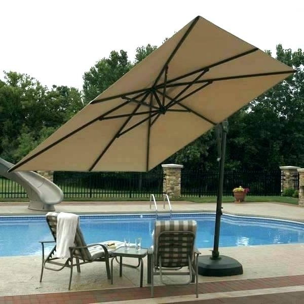 Cantilever Patio Umbrellas – Patio Furniture Intended For Most Recent Cantilever Patio Umbrellas (View 5 of 15)
