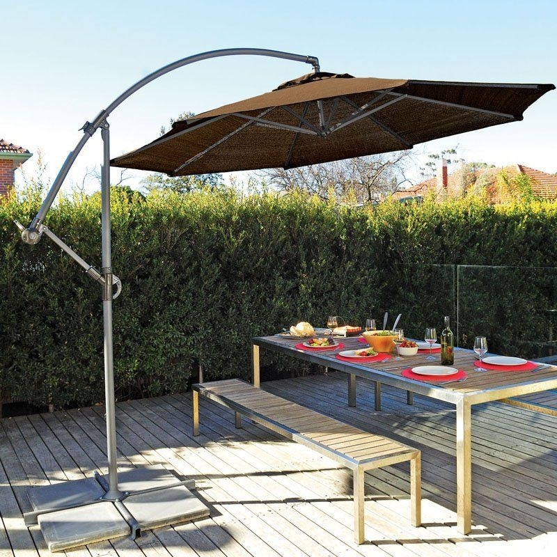 Cantilever Patio Umbrellas With Regard To Newest Coolaroo 12 Ft (View 6 of 15)