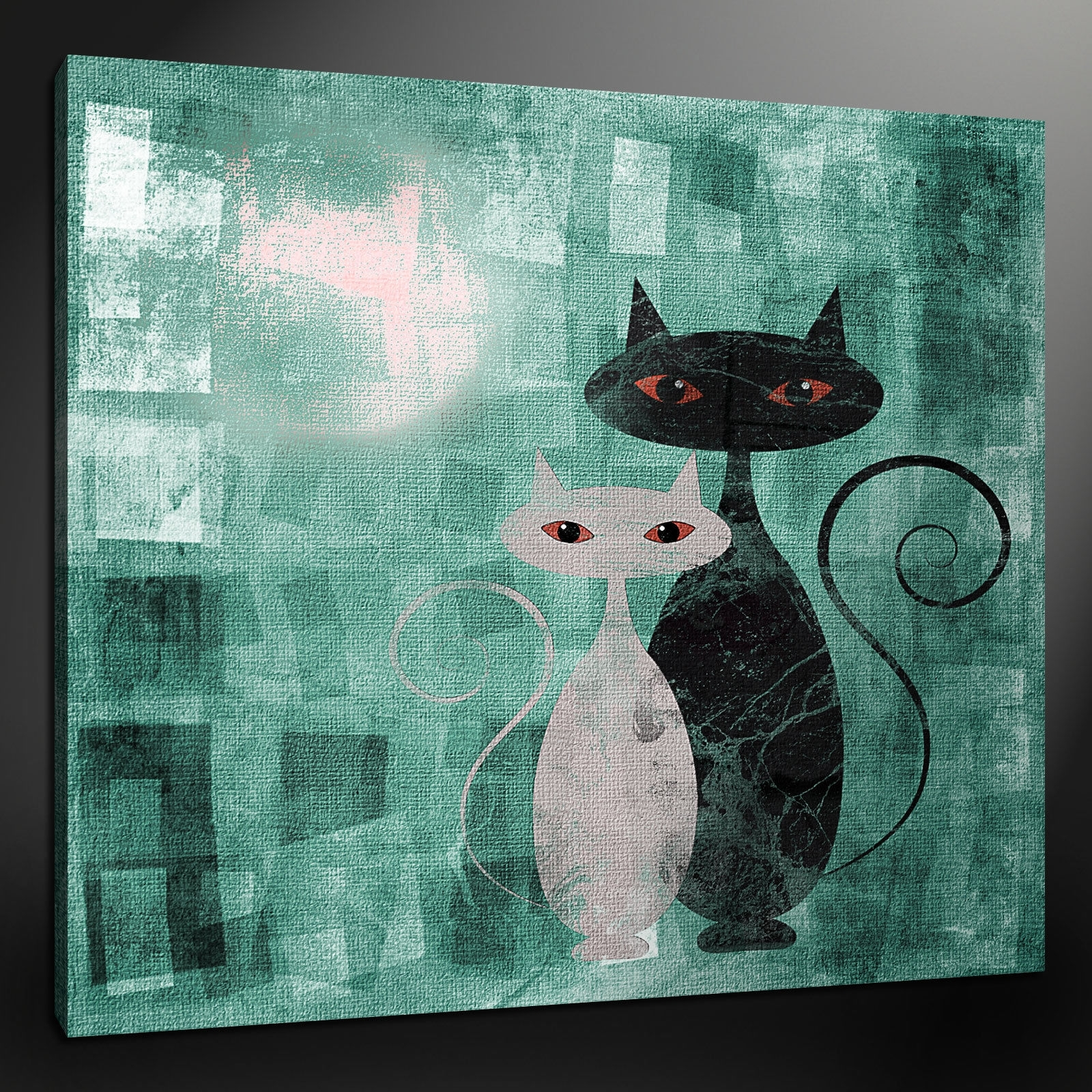 Canvas Print Pictures. High Quality, Handmade, Free Next Day Delivery. inside Favorite Cat Canvas Wall Art
